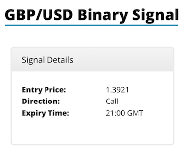 Free Binary Signals